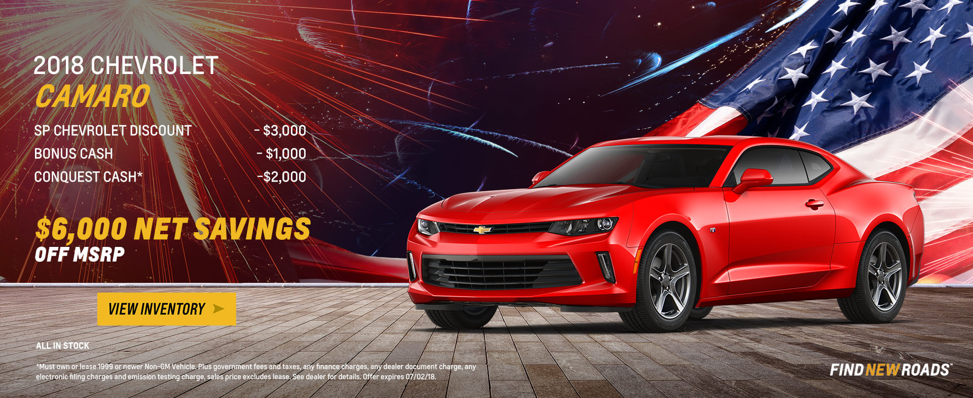 Camaro - $6,000 OFF MSRP
