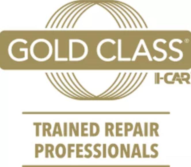 Gold Class I-CAR Trained Repair Professionals