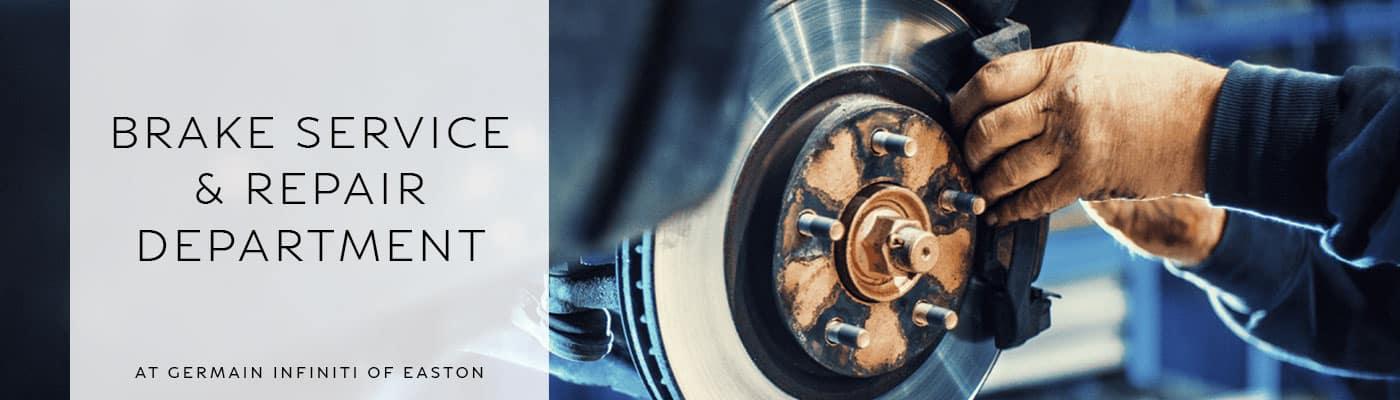 INFINITI Brake Service & Repair Department