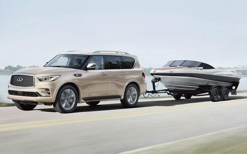 2021 INFINITI QX80 Towing