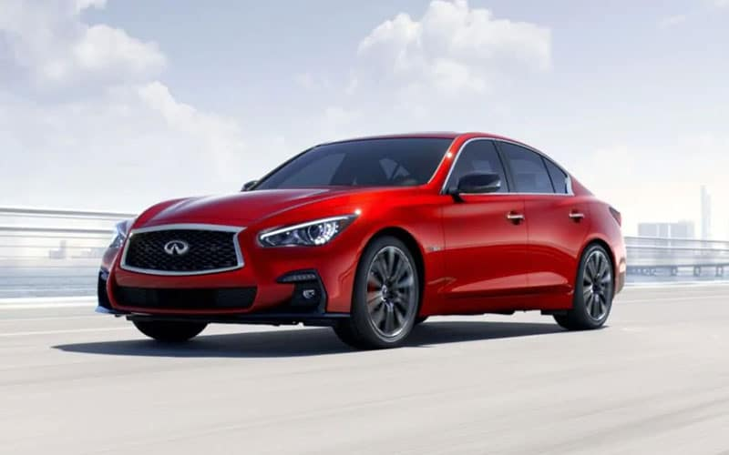 INFINITI Q50 Vehicle Dynamic Control