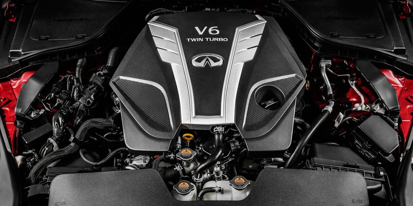 INFINITI Q50 Twin Turbo V6 Engine