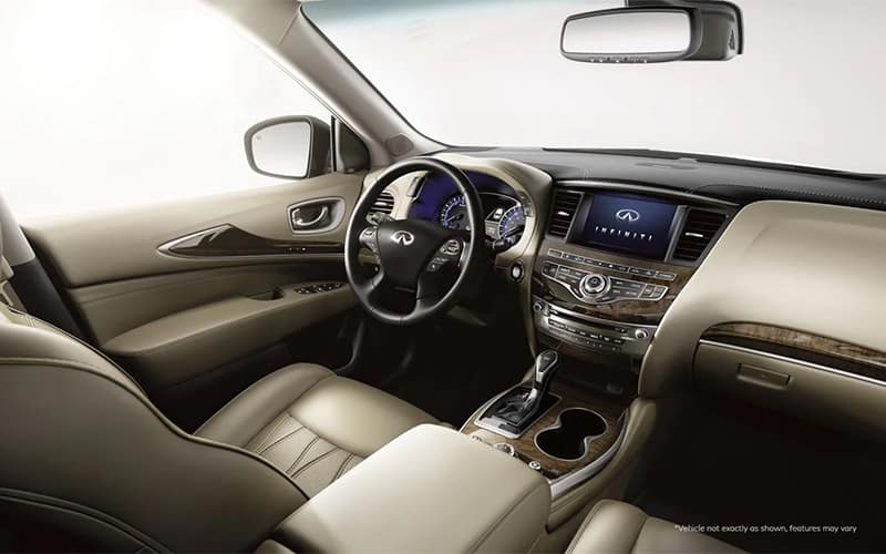 2020 INFINITI QX60 Interior First Row
