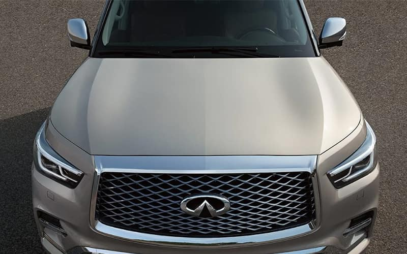 2021 INFINITI QX80 Front Grille
