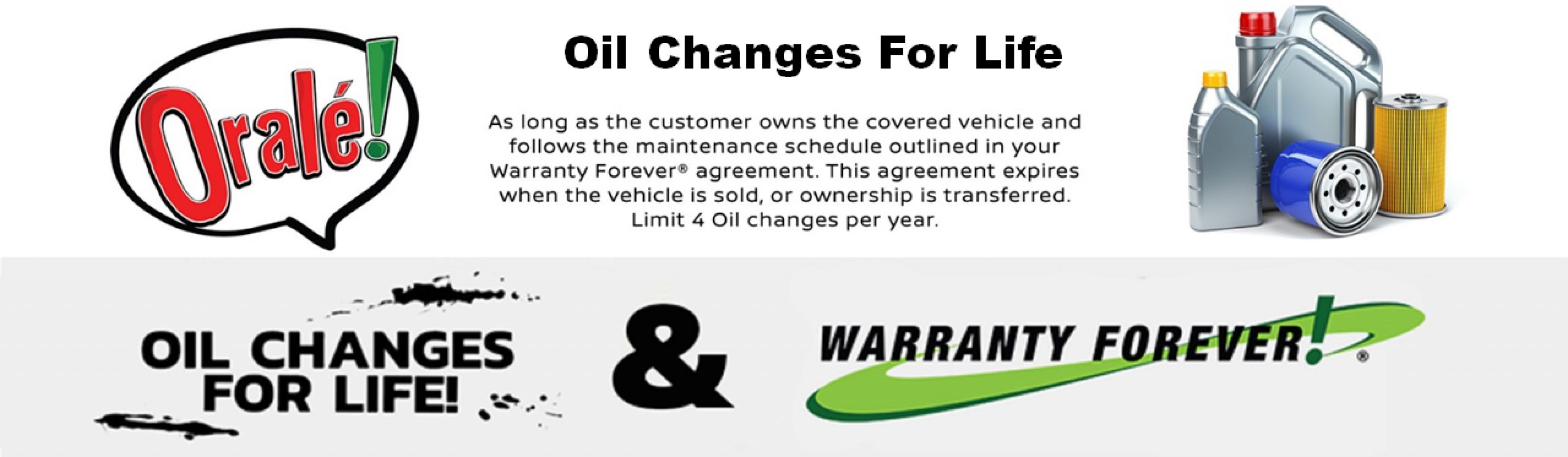 Infiniti Warranty Forever and oil changes for life
