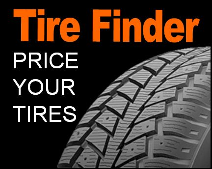 Tire Finder, price your tires