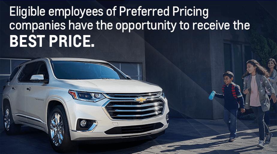 GM Preferred Pricing Discount Program