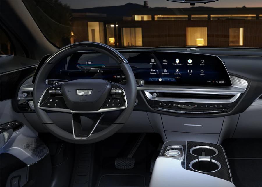 front interior