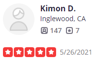 , Yelp Review