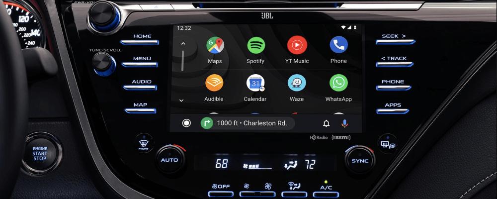 Infotainment Touchscreen