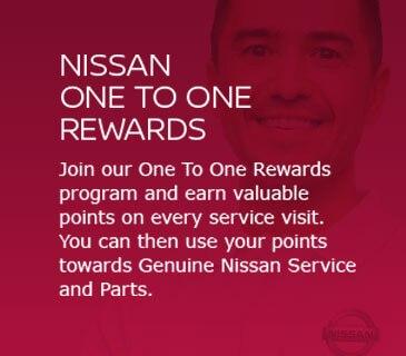 Nissan one to one rewards
