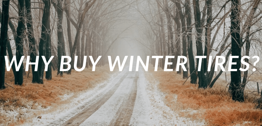 Why Buy Winter Tires Banner