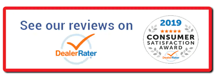 See our reviews on DealerRater