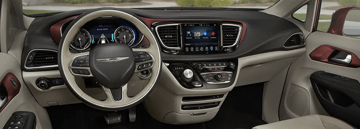 2017 Chrysler Pacifica - Front Interior