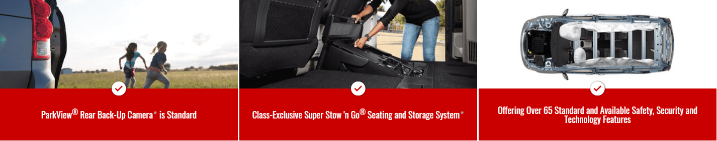 2019 Dodge Grand Caravan - Class Exclusives