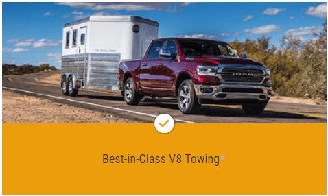 Best in Class V8 Towing