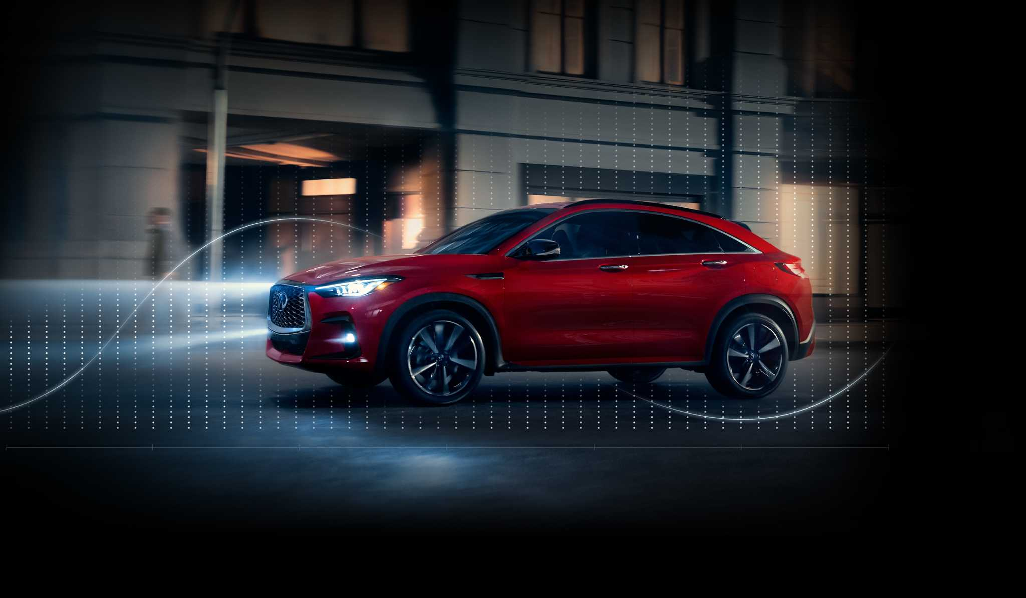 Banner image - new 2022 QX55