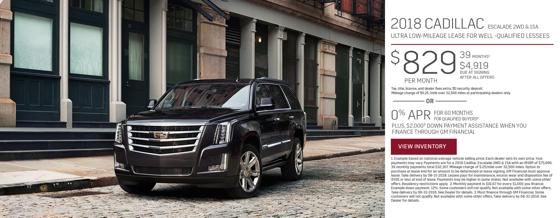 Escalade Lease