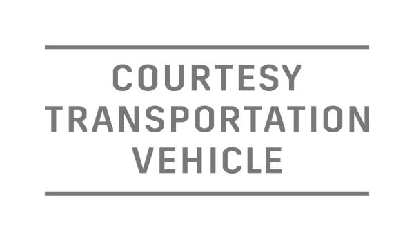Courtesy Transportation Vehicle