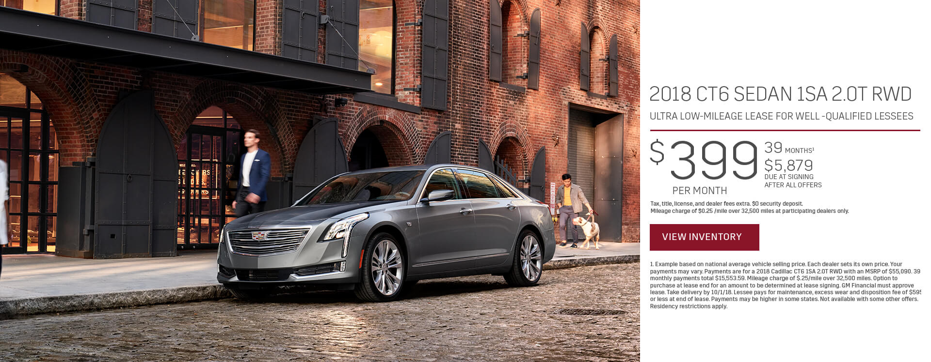 Cadillac CT6 Lease