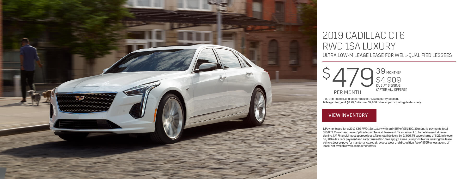 CT6 Lease