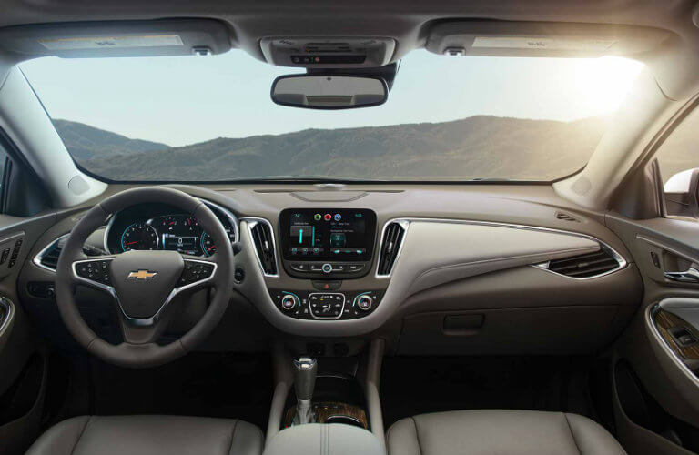 2017 Chevy Malibu interior color options