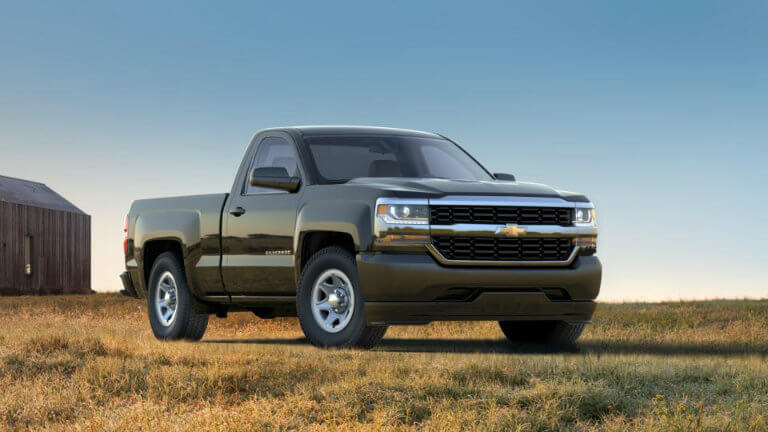 2017 Chevy Silverado in Graphite Metallic