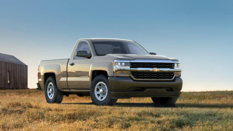 2017 Chevy Silverado in Pepperdust Metallic
