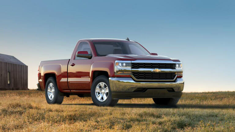 2017 Chevy Silverado in Siren Red Tintcoat