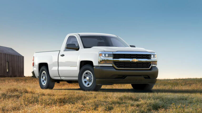 2017 Chevy Silverado in Summit White