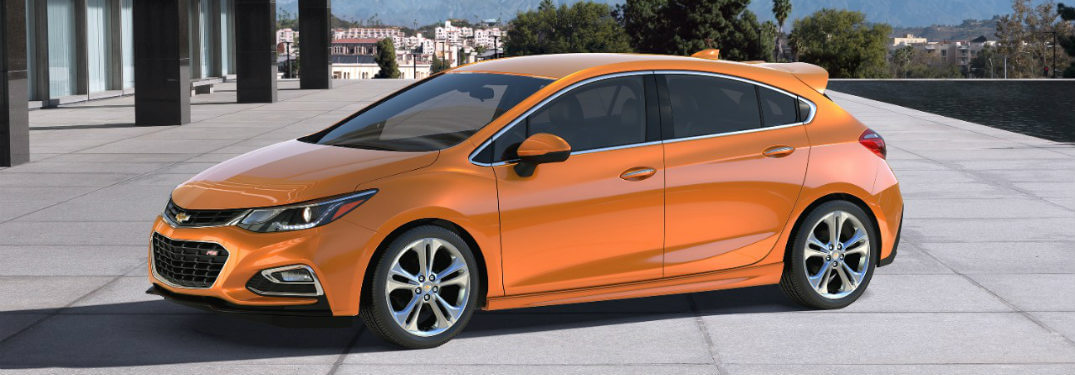 New Cruze Hatchback Introduced for 2017 Model Year