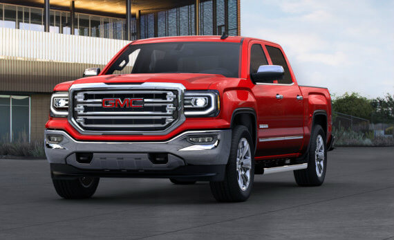 2017 GMC Sierra 1500 in Cardinal Red