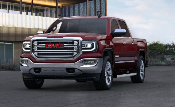 2017 GMC Sierra 1500 in Crimson Red Tintcoat