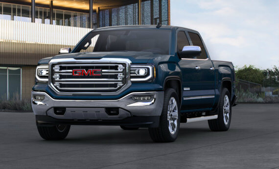 2017 GMC Sierra 1500 in Stone Blue Metallic