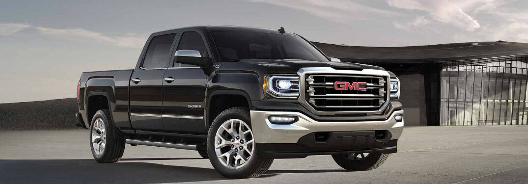 What are the paint colour options for the 2018 GMC Sierra?