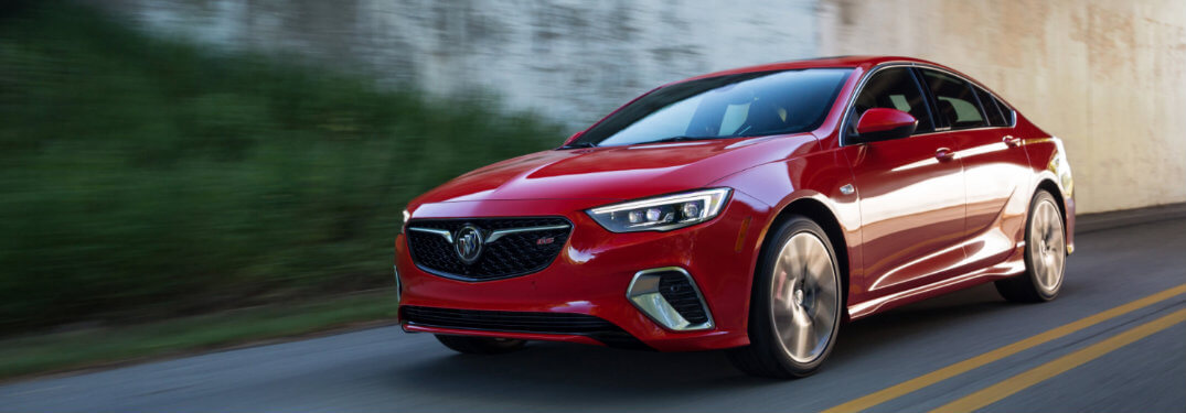 2018 Buick Regal GS Canadian release date