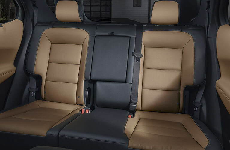 2018 Chevy Equinox seating