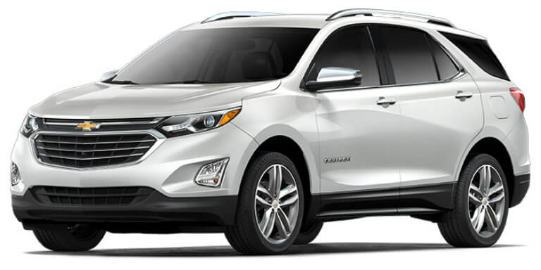 2018 Chevy Equinox in Iridescent Pearl Tricoat