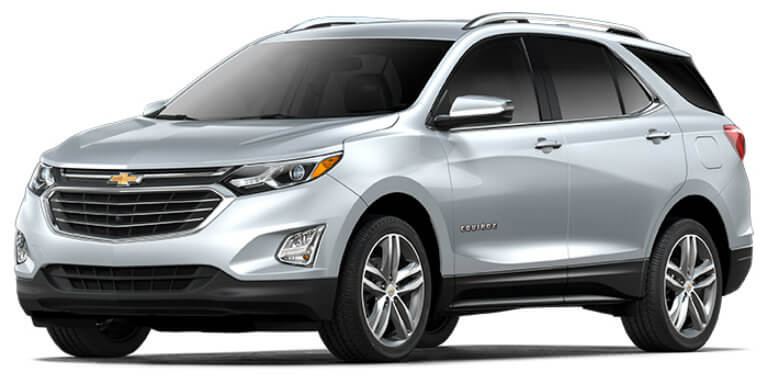 2018 Chevy Equinox in Silver Ice Metallic