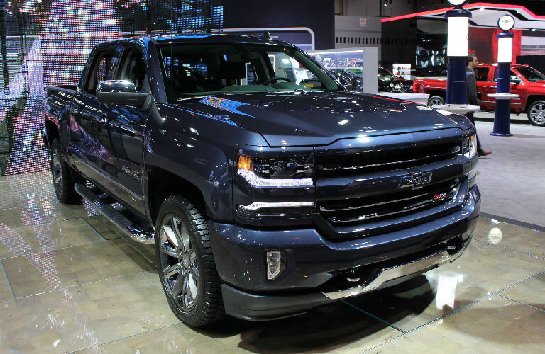 Chevy Silverado Special Edition Trucks at the Chicago Auto ...