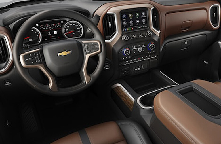 2019 Chevy Silverado dashboard