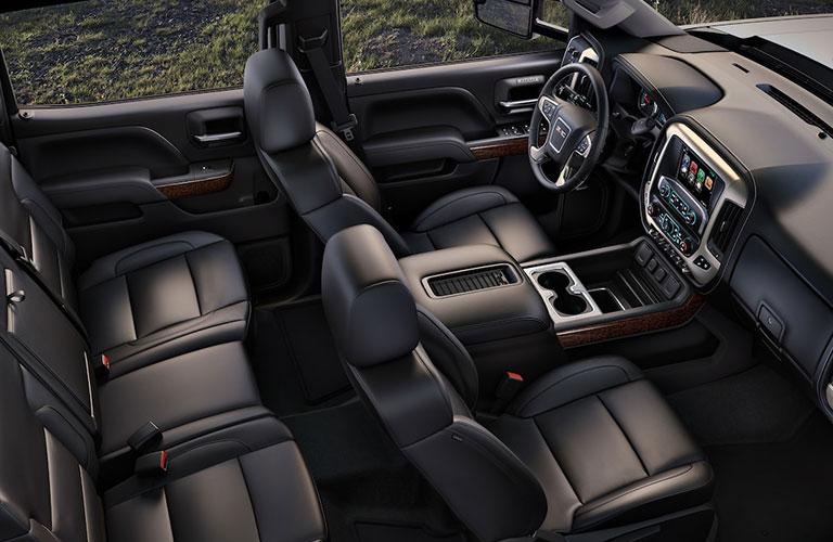 2019 GMC Sierra 2500HD seating