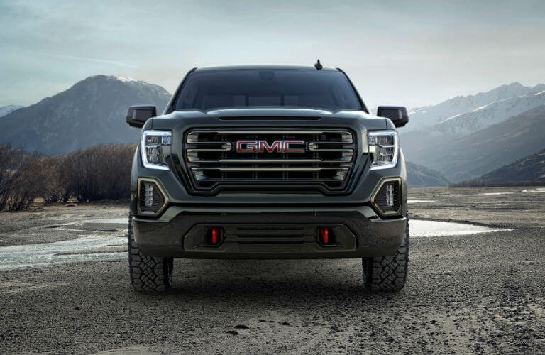 2019 GMC Sierra AT4 grille