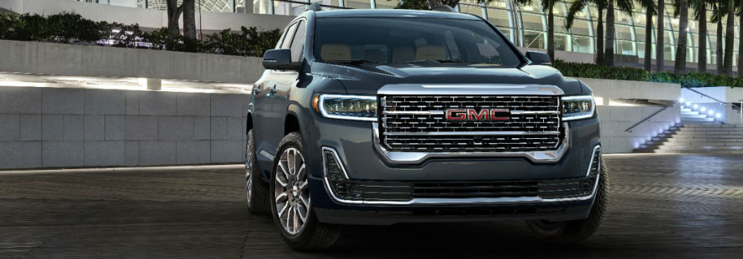 What colours are available on the 2020 GMC Acadia?