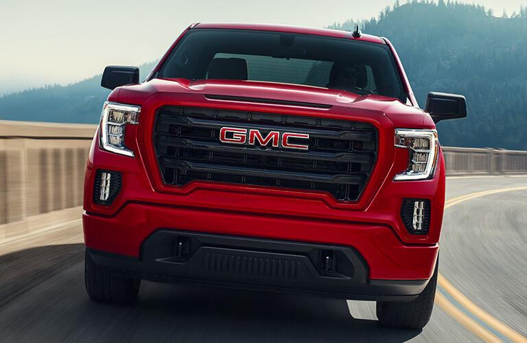 2020 GMC Sierra in red