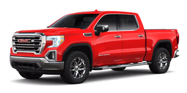2019 GMC Sierra 1500 in Cardinal Red