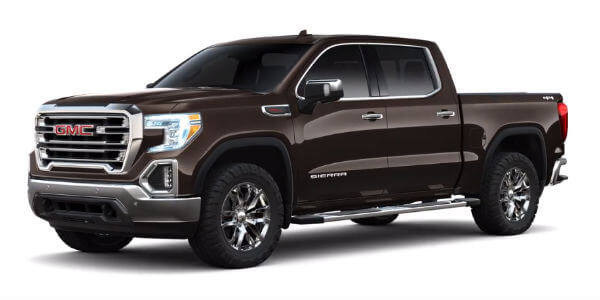 2019 GMC Sierra 1500 in Deep Mahogany Metallic
