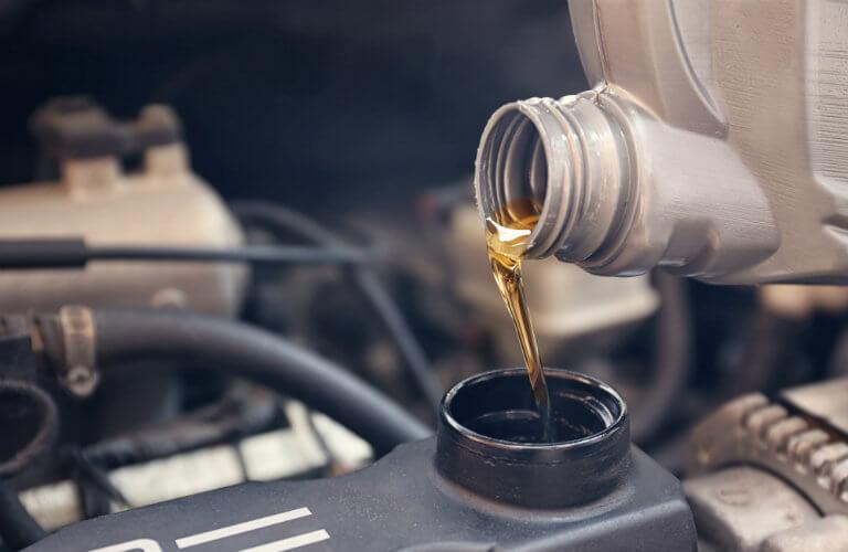 Engine oil PSI