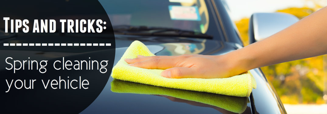 Tips for spring cleaning your car