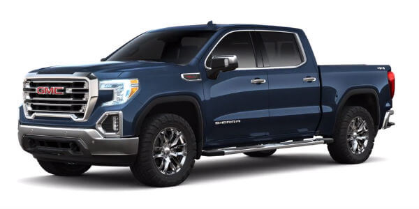 2019 GMC Sierra 1500 in Pacific Blue Metallic